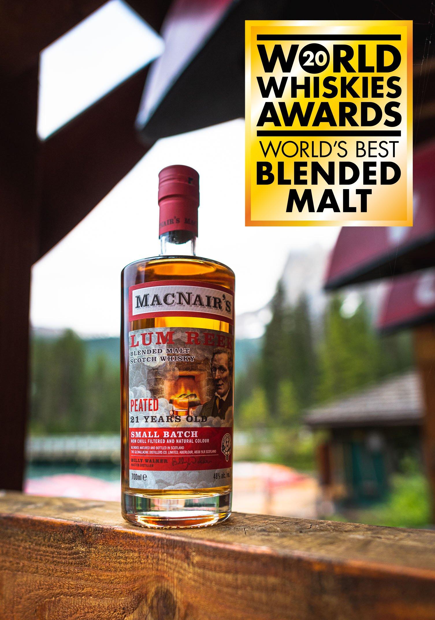 MacNair's 21 year old blended malt scotch whisky