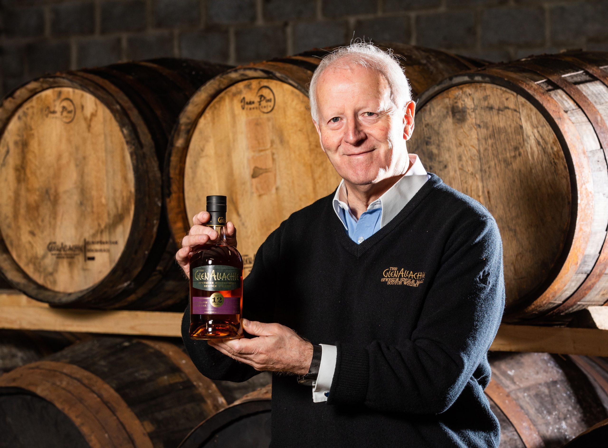 Billy Walker, Master Blender at The GlenAllachie Distillery