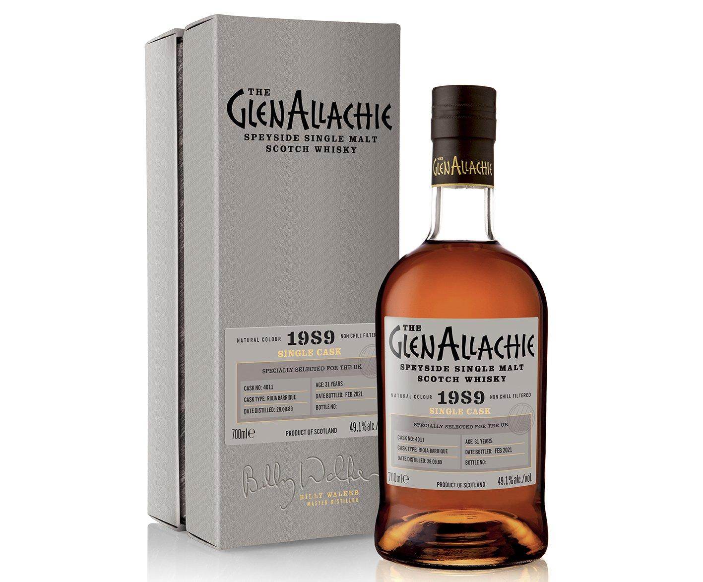 GlenAllachie Cask #4011 Rioja Barrique