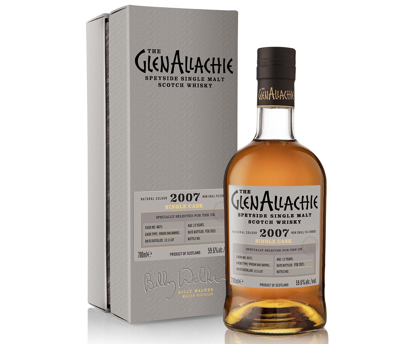 GlenAllachie Cask #6871 Virgin Oak Barrel