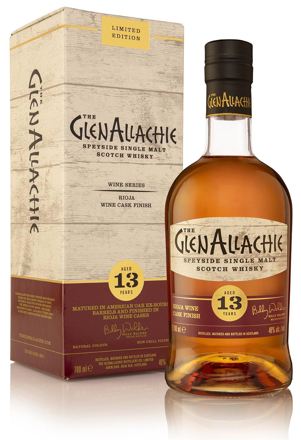 GlenAllachie 13yo Rioja