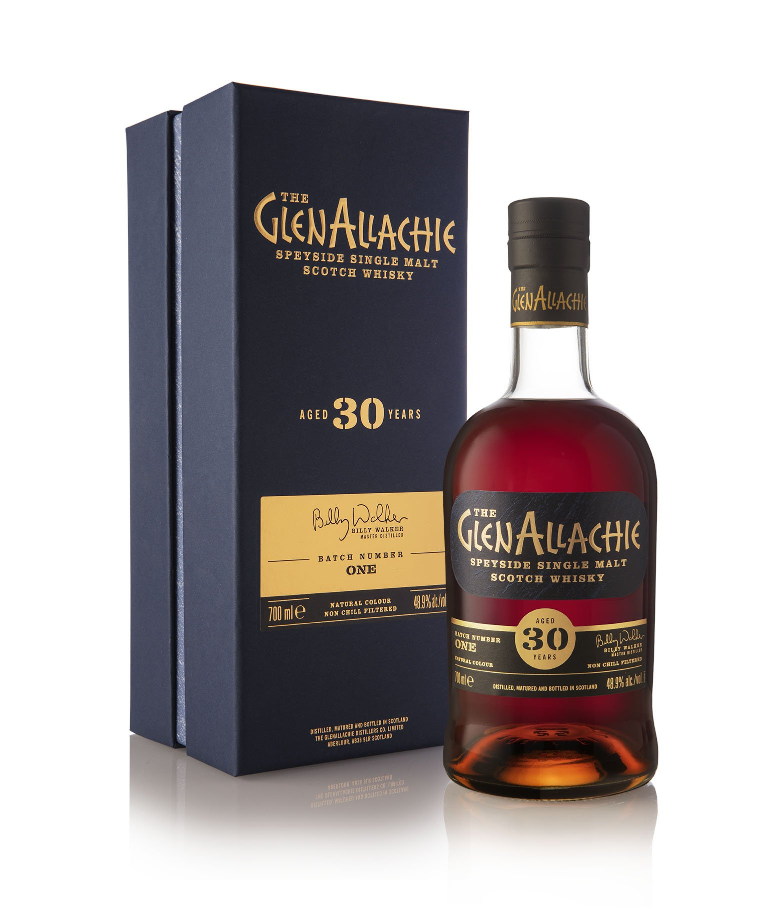 The GlenAllachie 30 Year Old Cask Strength