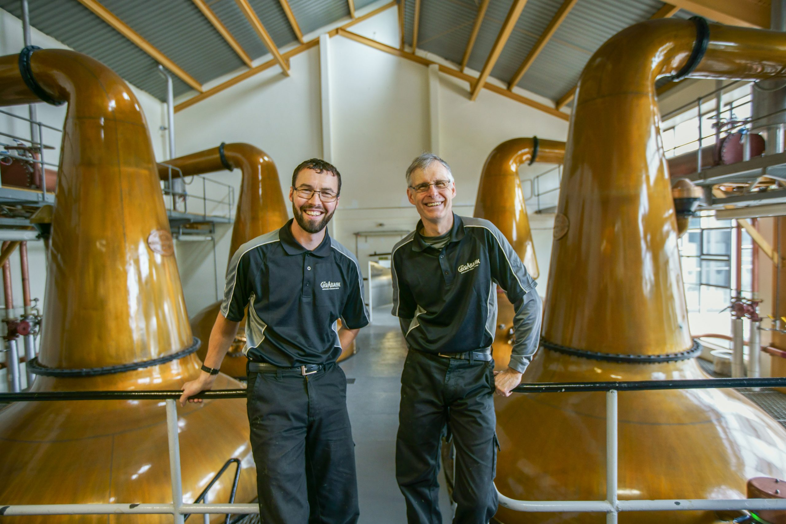 The GlenAllachie Distillers - Mike Duncan and Philip
